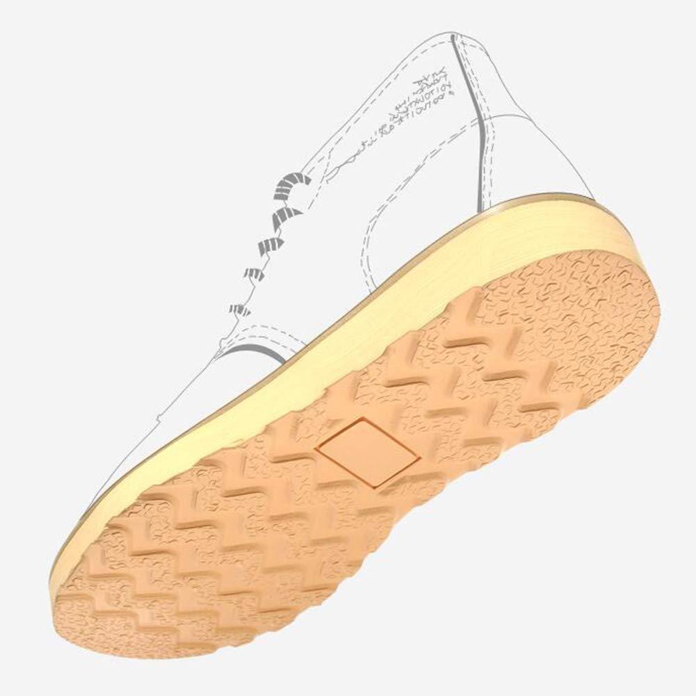 ABC YIXINY LAB-0027 Herren Winter, PU-Schuhe für Herbst und Winter, Herren sportliche Schuhe, Martin-Stiefel, Werkzeugschuhe, Rot Orange Schwarz (Farbe  Orange, Größe  EU42 UK8.5 CN43) 66ce2f