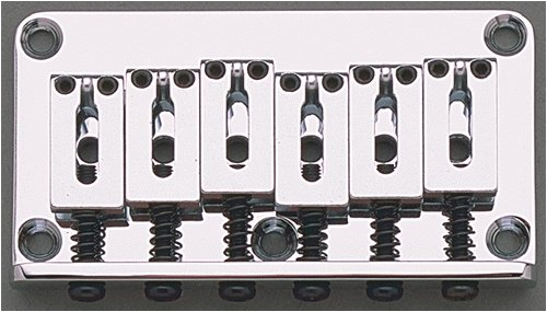 Allparts SB-5115-010 Gotoh Non-Tremolo Bridge Chrome by Allparts