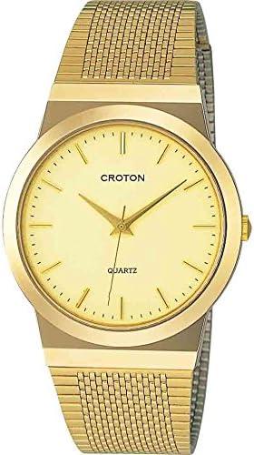 [クロトン] 腕時計 RT-119M-4 メンズ ゴールド