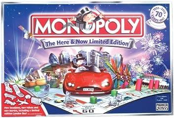Monopoly Here & Now Limited Edition by Hasbro: Amazon.es: Juguetes y juegos