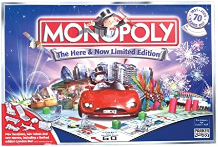 Monopoly Here & Now Limited Edition by Hasbro: Amazon.es: Juguetes y juegos