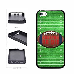 linJUN FENGHouston or Die Football Field TPU RUBBER SILICONE Phone Case Back Cover Apple iPhone 5c