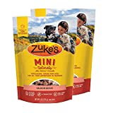 Zuke's Mini Naturals Dog Treats Salmon Recipe 6 oz 2 Pack