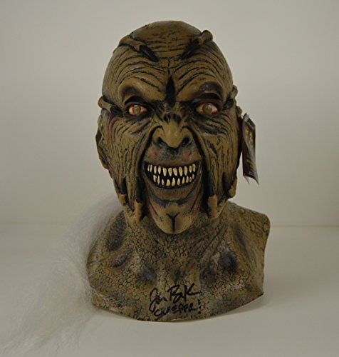 JONATHAN BRECK signed Jeepers Creepers MASK autographed