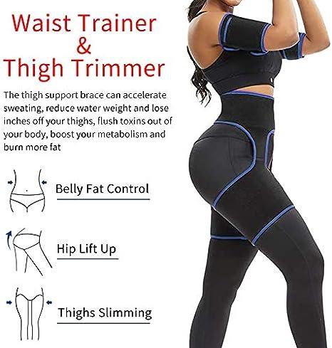 Booty Hip Enhancer Leg Slimmer Butt Lifter Shaper Waist Trainer Thigh Trimmer US