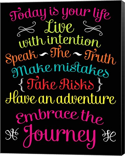 Embrace the Journey by Louise Carey Canvas Art Wall Picture,