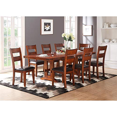 Hawthorne Collections Rembrant Trestle Dining Table Collection Trestle Dining Table