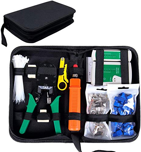 SGILE Network Tool Kit for Cat5/5e, Black