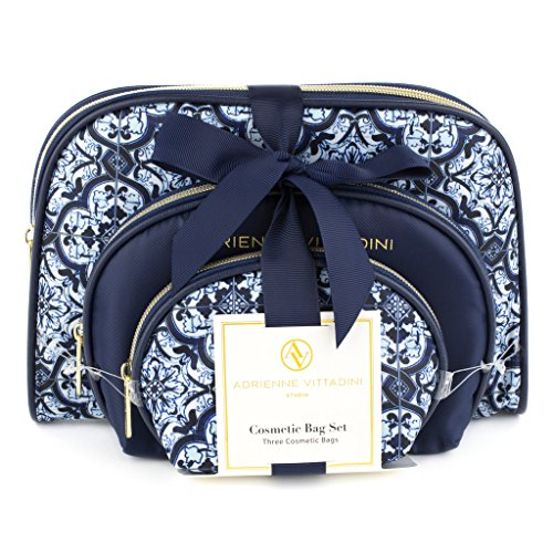 adrienne-vittadini-womens-three-dome-shaped-cosmetic-bags-set-blue-tile-print