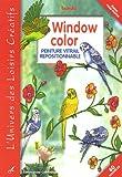 Window color : Peinture vitrail repositionnable