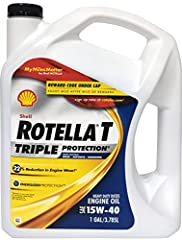 Shell Rotella T Triple Protection Heavy Duty Engine Oil is a Energized Protection of Shell Rotella heavy duty diesel engine oils provides protection in three critical areas. Acid control; helps protect against corrosion from acids formed as f...