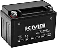 KMG YTX9-BS Sealed Maintenance Free Battery High Performance 12V SMF OEM Replacement Powersport Motorcycle ATV