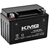 KMG YTX9-BS Sealed Maintenace Free Battery High Performance 12V SMF OEM Replacement Maintenance Free Powersport Motorcycle ATV Scooter