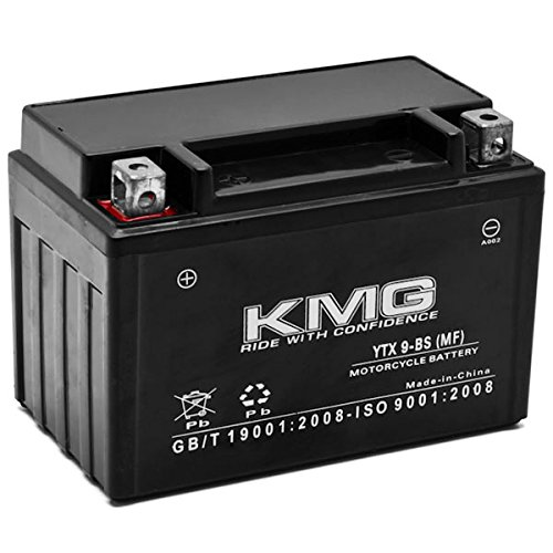 KMG Honda EU3000 Generator 0-2011 YTX9-BS Sealed Maintenace Free Battery High Performance 12V SMF OEM Replacement Maintenance Free Powersport Motorcycle ATV Scooter Snowmobile KMG