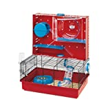 PACC Pets 57922599 Olimpia Hamster Cage, White by Ferplast