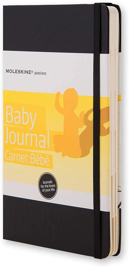 Moleskine Taccuino Passion Baby Journal, Nero