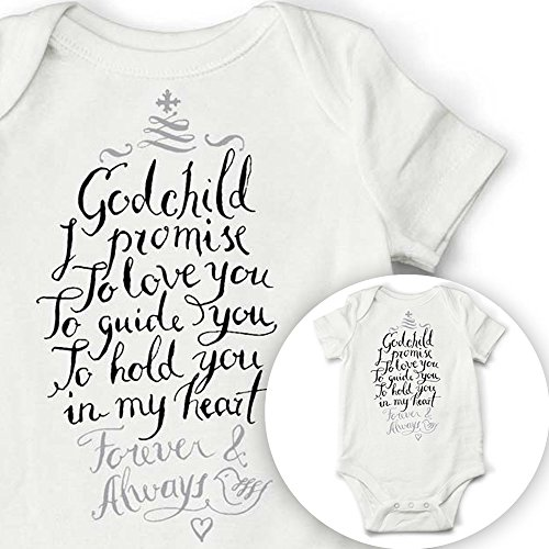 Godchild Bodysuit Christening Goddaughter Baptism