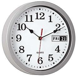WalterDrake Retro Calendar Wall Clock