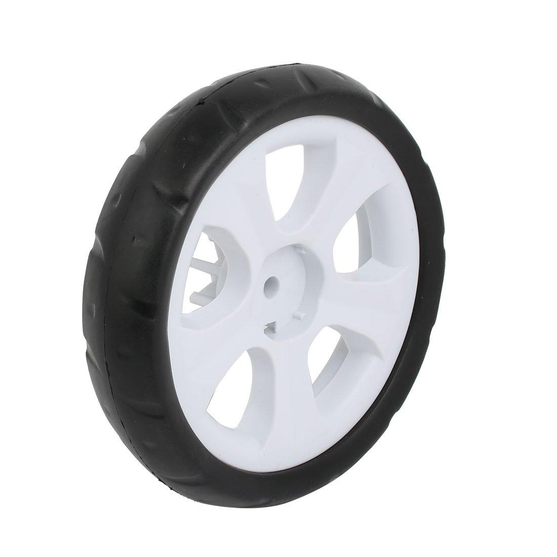 uxcell 155mm Diameter Plastic Single Wheel Pulley Rolling Roller