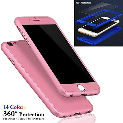 sufang電話保護ケースハイブリッド強化ガラス+アクリルハードケースカバーfor iPhone 7 / 7plus / 6 / 6s / 6 Plus iPhone 6S Plus グレー iPhone 6S Plus グレー B076DYW4SH