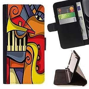 King Case - FOR LG G3 - The complicated world - Prima caja de la PU billetera de cuero con ranuras para tarjetas, efectivo Compartimiento desmontable y correa para la mu?eca