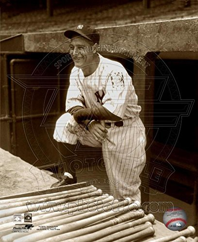 Lou Gehrig Photo 11 x 14in - Lou Photograph Gehrig