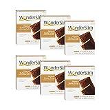 WonderSlim High Protein Snack Bar / Diet Bars - Peanut Butter Crisp (7ct) 6 Box Value-Pack (Save 10%) - Trans Fat Free, Aspartame Free, Kosher, Cholesterol Free