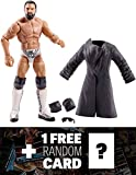 Damian Misdow w/ Trench Coat & Sunglasses: WWE Elite Collection Action Figure Series + 1 FREE Official WWE Trading Card Bundle