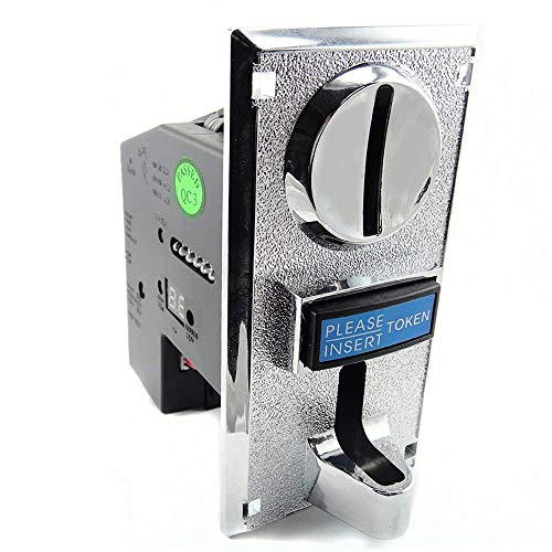 BLEE 6 Kinds Different Coins Selector Acceptor for Arcade Video Games Vending Machine Part Support Multi Signal Output
