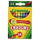 Crayola Crayons Bulk, 24 Box Classpack, 24 Assorted Colors