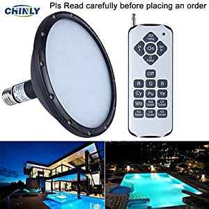 Amazon Com Chinly 120v 18w Rgb Color Changing
