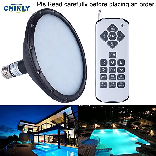 CHINLY 120V 18W RGB Color Changing Replacement Swimming L...