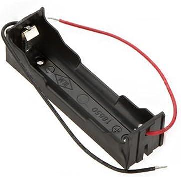 SODIAL 5pzs sostenedor estuche caja de almacenamiento de bateria DIY para 3.7V 18650 baterias de litio: Amazon.es: Electrónica