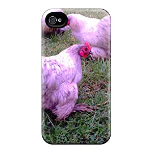 MhSmDPY7163QMbmp Set Of Three Lavender Chickens Fashion Tpu 4/4s Case Cover For Iphone