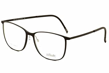 45a4695242 Image Unavailable. Image not available for. Color  Silhouette Eyeglasses  Urban Lite 1559 6054 Black Optical Frame 51x15x145