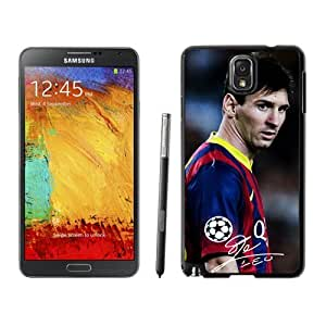 Unique DIY Designed Case For Samsung Galaxy Note 3 N900A N900V N900P N900T With Soccer Player Lionel Messi 43 Cell Phone Case by ruishername