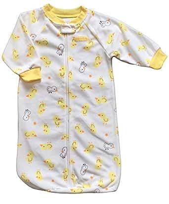 Child of Mine By Carter's Baby Boys Girls 0-9 M Fleece Sleepingbag or Sac (Yellow Duck)