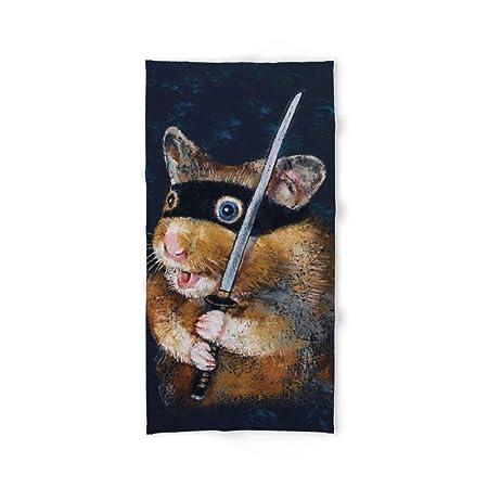 xcvgcxcvasda Ninja Hamster Bath Towel 31.5