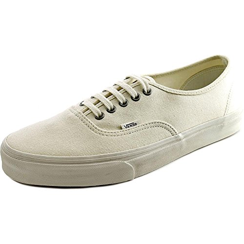 de Authentic blanc Basses overwashed Vans bla Adulte Mixte Sneakers Blanc x88qOw0H