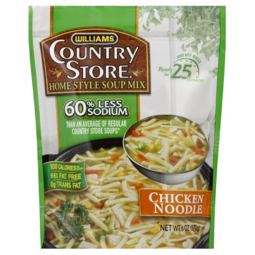 Country Store Soup, Reduced Sodium, Chicken Noodle, 6-Ounce (Pack of 6) by Country Store