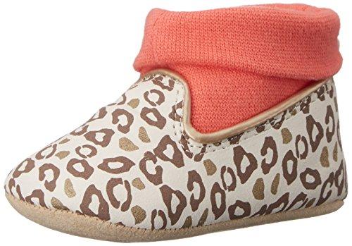 Image of Rosie Pope Kids Footwear Girls' Prewalker Playful Leopard-K, Brown, 3-6 Months M US