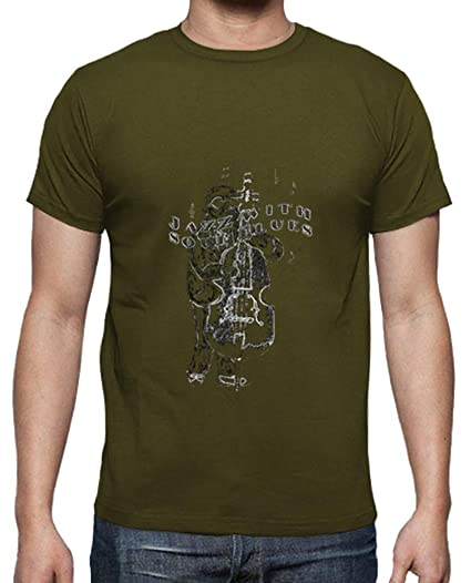 latostadora - Camiseta Jazz with Soul Blues para Hombre Army M: onalita: Amazon.es: Ropa y accesorios
