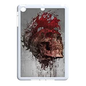 Skull and skeleton Unique Design Hard Pattern Phone Case For For iPad Case Mini color16
