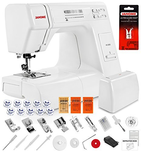 Janome HD3000 Heavy Duty Sewing Machine w/Hard Case + Ultra