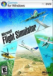 Amazon Com Microsoft Flight Simulator X Standard Dvd Pc Video Games