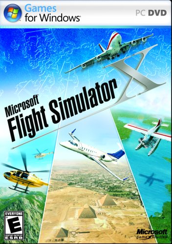 Picture of a Microsoft Flight Simulator X Standard 796152683016,882224257862,8822242578626