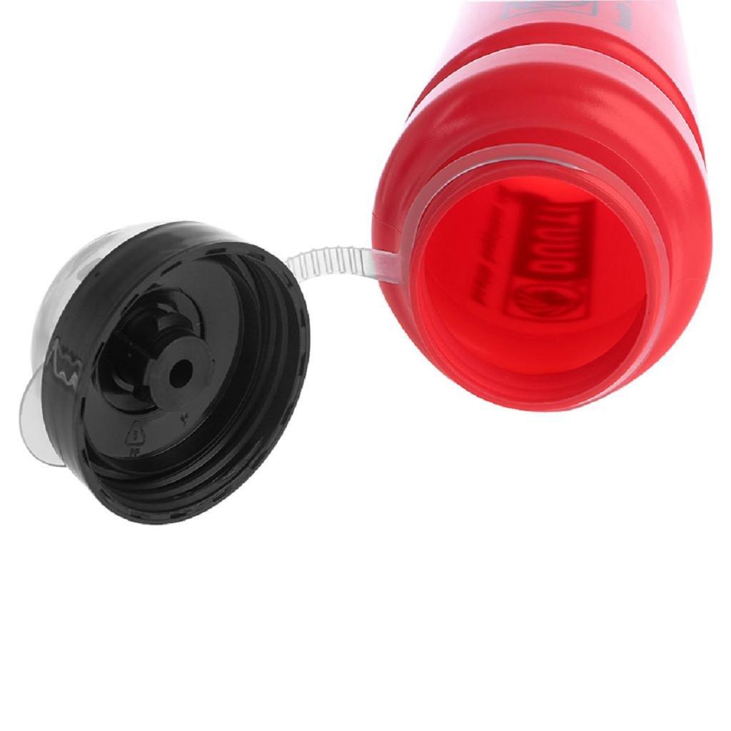 Cuawan 500ml Water Drink Bottle Shaker Cup Jugs Food-Grade Sports Cycle Kettle
