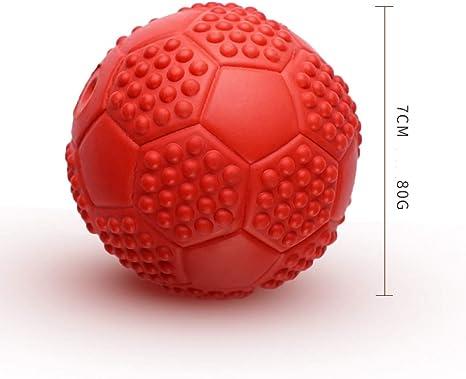 MAOBANG Pelota Juguete para Mascotas Vocal pequeño balón de Goma ...