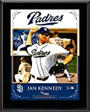 """Ian Kennedy San Diego Padres Sublimated 10.5"""" x 13"""" Composite Plaque - Fanatics Authentic Certified - MLB Player Plaques and Collages"""