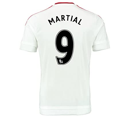 more photos 60ce2 686d7 Amazon.com : 2015-2016 Man Utd Away Football Soccer T-Shirt ...